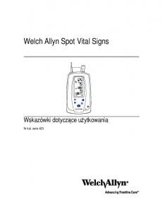 Welch Allyn Spot Vital Signs
