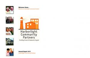 Welcome Home Welcome to Harborlight Community Partners