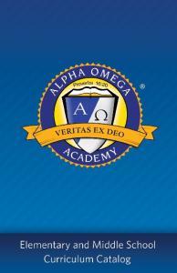 Welcome to Alpha Omega Academy!