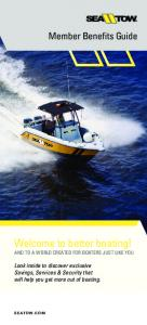 Welcome to better boating! AND TO A WORLD CREATED FOR BOATERS JUST LIKE YOU