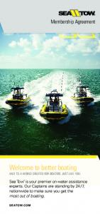 Welcome to better boating