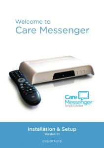 Welcome to Care Messenger