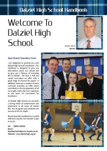 Welcome To Dalziel High School