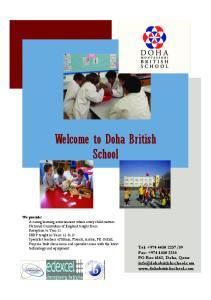 Welcome to Doha British School