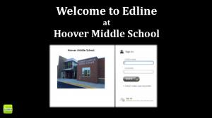 Welcome to Edline at Hoover Middle School