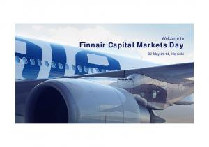 Welcome to Finnair Capital Markets Day