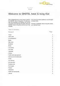 Welcome to GHOTEL hotel & living Kiel