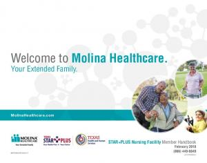 Welcome to Molina Healthcare. Your Extended Family