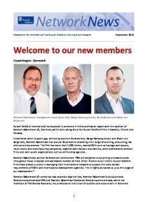 Welcome to our new members