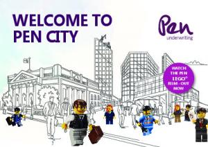 WELCOME TO PEN CITY WATCH THE PEN LEGO FILM - OUT NOW