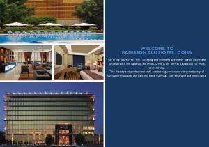 WELCOME TO RADISSON BLU HOTEL, DOHA