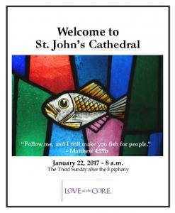 Welcome to St. John s Cathedral