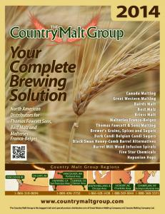 Welcome to the Country Malt Group!