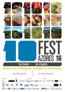 Welcome to the fifth edition of the 10 Fest Azores - 10 days, 10 chefs!