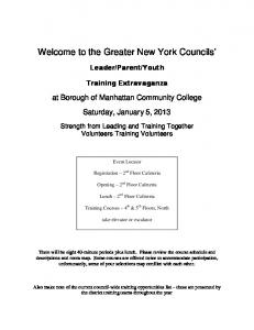 Welcome to the Greater New York Councils