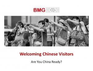 Welcoming Chinese Visitors. Are You China Ready?