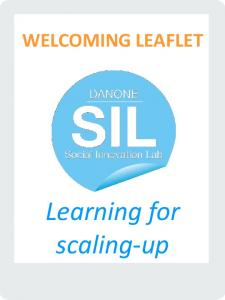 WELCOMING LEAFLET. Learning for scaling-up