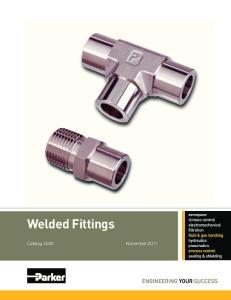 Welded Fittings Catalog 4280 November 2011