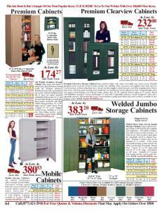 Welded Jumbo Storage Cabinets