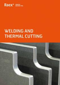 WELDING AND THERMAL CUTTING