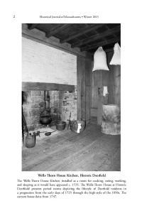 Wells-Thorn House Kitchen, Historic Deerfield