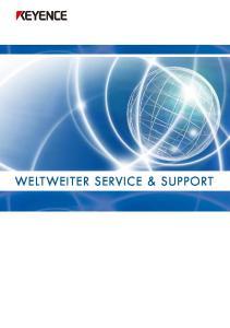 WELTWEITER SERVICE & SUPPORT