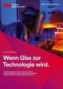 Wenn Glas zur Technologie wird