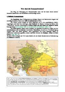Wer sind die Donauschwaben?