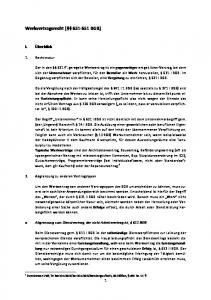 Werkvertragsrecht ( BGB)