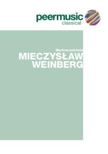 Werkverzeichnis. Mieczysław Weinberg
