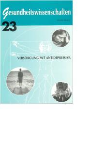 Werner Bencic (Hrsg.) Versorgung mit Antidepressiva