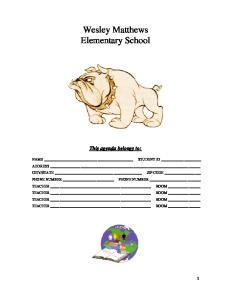 Wesley Matthews Elementary School