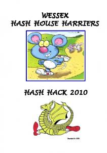 WESSEX HASH HOUSE HARRIERS