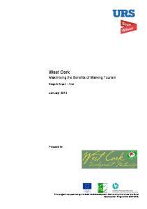 West Cork Maximising the Benefits of Walking Tourism