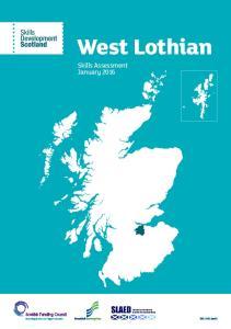 West Lothian. Skills Assessment January SDS-1143-Jan16