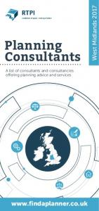 West Midlands Planning Consultants. A list of consultants and consultancies offering planning advice and services