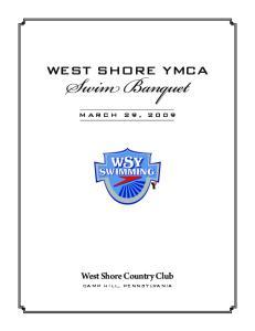West Shore YMCA. Swim Banquet. West Shore Country Club