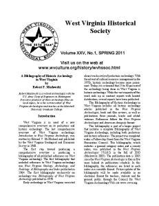 West Virginia Historical Society