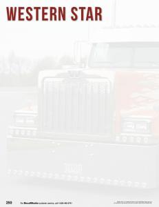 WESTERN STAR. 250 For RoadWorks customer service, call
