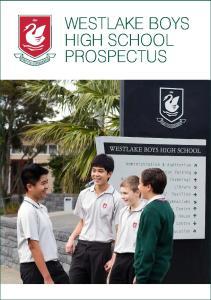 WESTLAKE BOYS HIGH SCHOOL PROSPECTUS