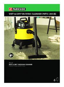 WET & DRY VACUUM CLEANER PNTS 1300 A1