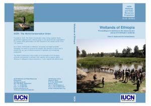 Wetlands of Ethiopia BLUE SERIES. Wetlands of Ethiopia. IUCN - The World Conservation Union IUCN IUCN. Wetlands and Water Resources