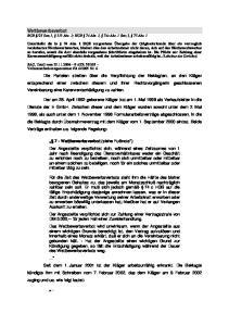 Wettbewerbsverbot BGB 125 Satz 1, 313 Abs. 1; HGB 74 Abs. 1, 74c Abs. 1 Satz 3, 75 Abs. 1
