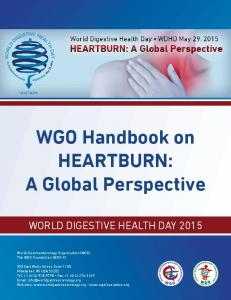 WGO Handbook on HEARTBURN: A Global Perspective