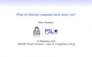What do Internet companies know about you?