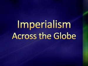What does this image imply about what Imperialism was?