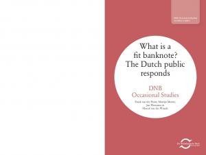 What is a fit banknote? The Dutch public responds