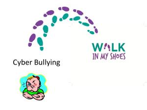 What is Cyber bullying?