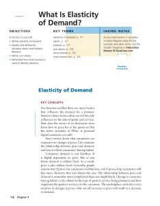 What Is Elasticity of Demand?