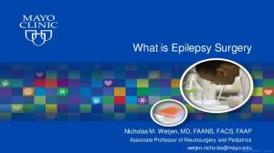What is Epilepsy Surgery